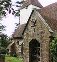 Photo: Ashurst parish church
