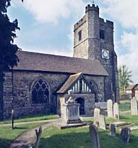 Photo: Lenham parish church